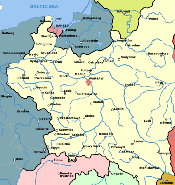 The Gleiwitz False Flag Incident Is Pure Fiction Carolyn Yeager - Germany map in 1939