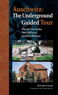 Click here to buy my book, Auschwitz: The Underground Guided Tour